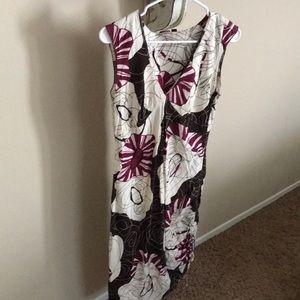 Volcom sleeveless A-line dress